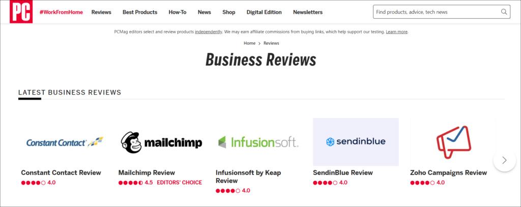 PC Mag Software Reviews