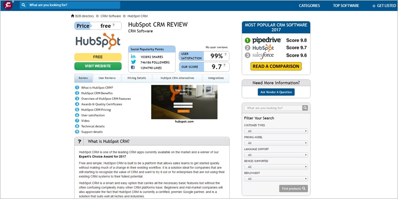 finances online reviews