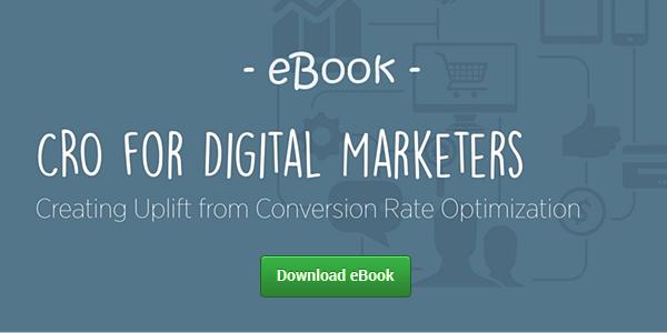 cro digital marketers download ebook