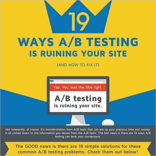 ab testing CRO mistakes