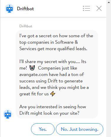 drift personalization