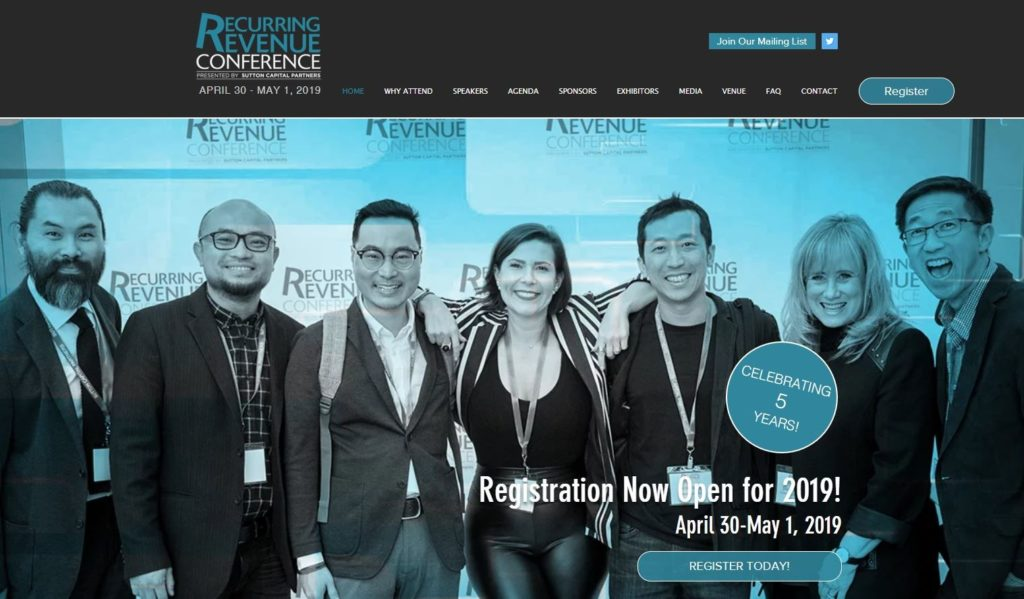 recurring revenue conference
