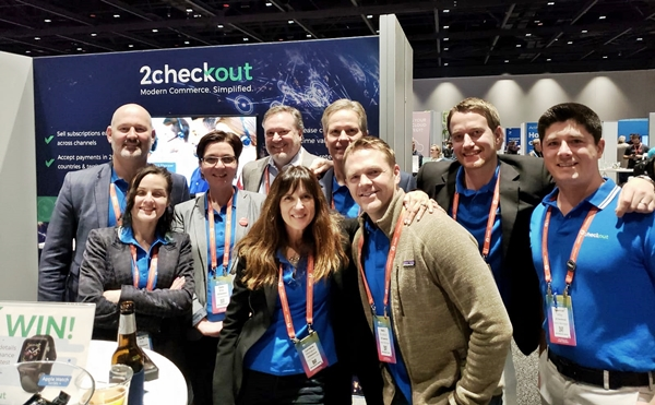 2checkout team at SaaStr Annual