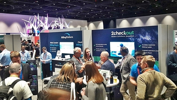 2checkout booth at saastr annual 2019