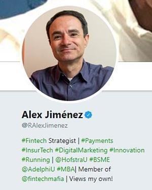 alex jimenez payments expert