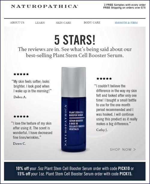 Customer Reviews by Marketing Sherpa