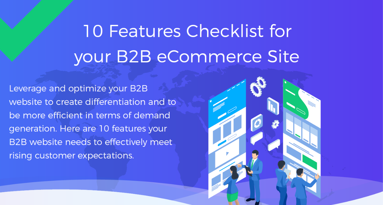 Top 10 Features Checklist for Your B2B eCommerce Site