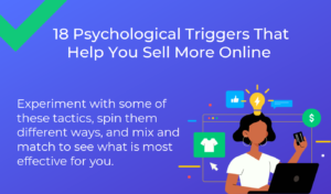 18 Psychological Triggers That Help You Sell More Online Infographic