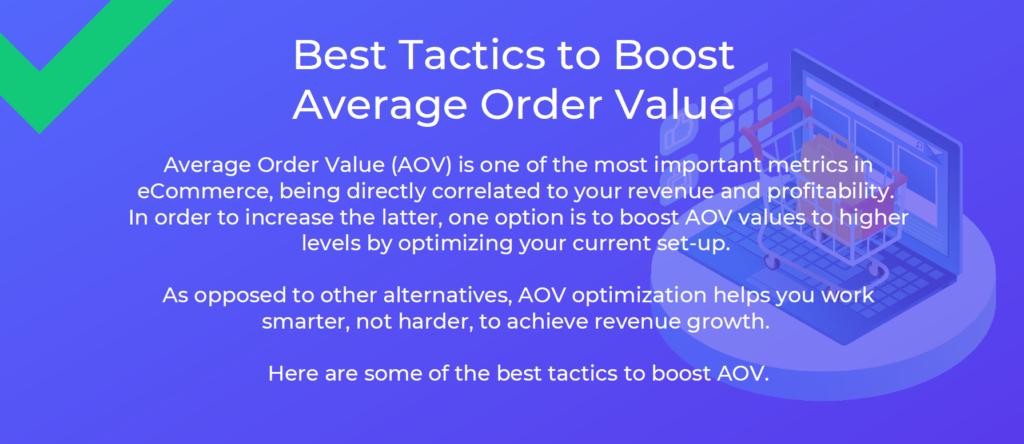 Best Tactics to Boost AOV