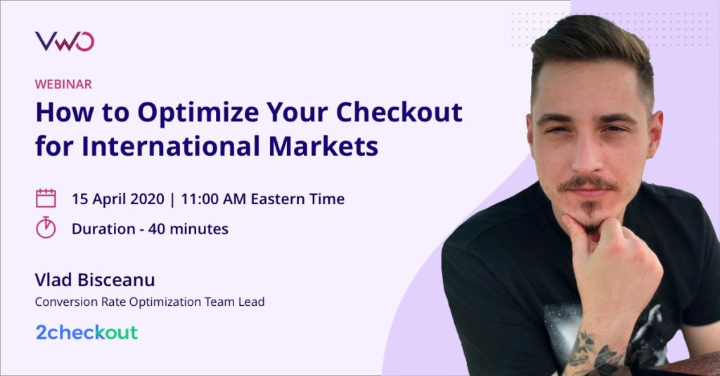 How to Optimize Your Checkout for International Markets Webinar