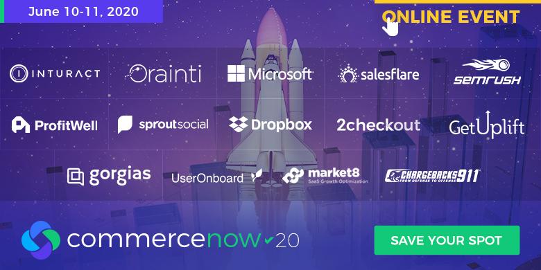 CommerceNow '20 - Companies' Lineup