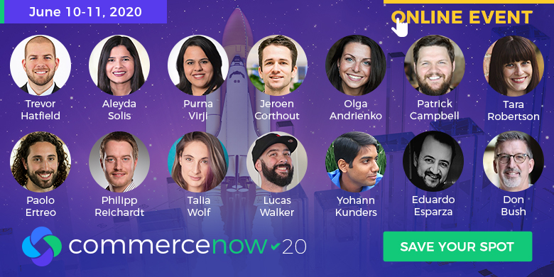 CommerceNow '20 - Speakers