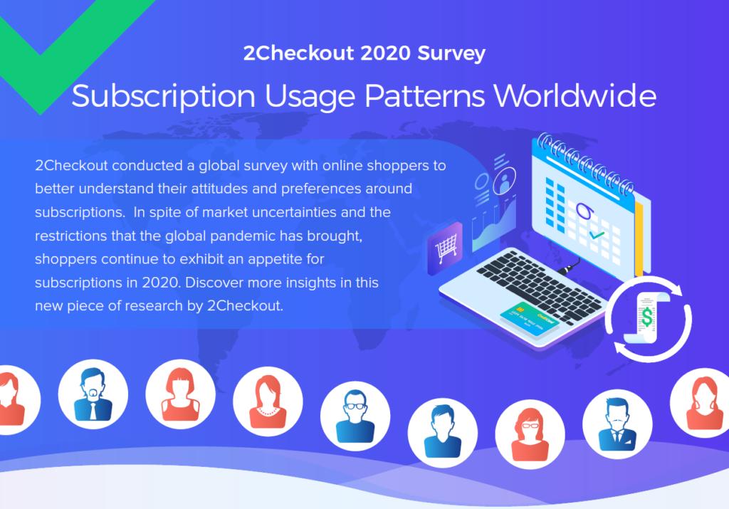2Checkout's 2020 Survey - Subscription Usage Patterns Worldwide