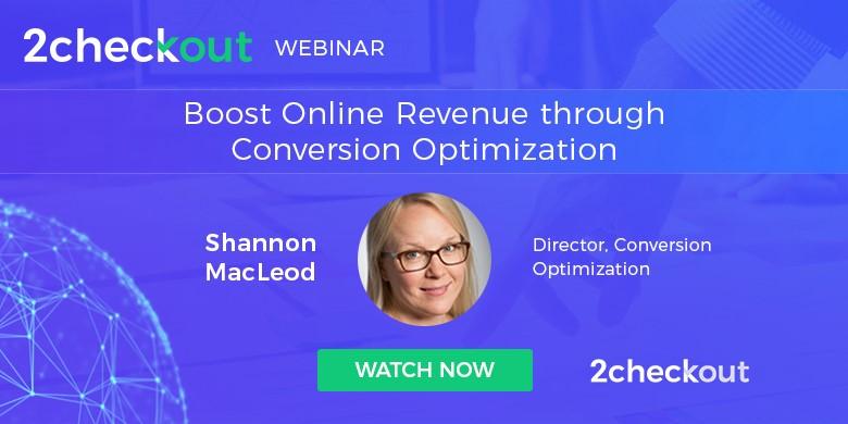 boost online revenue with CRO webinar