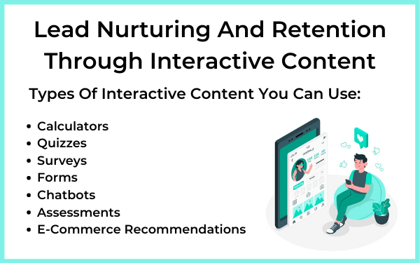 Lead Nurturing And Retention Through Interactive Content