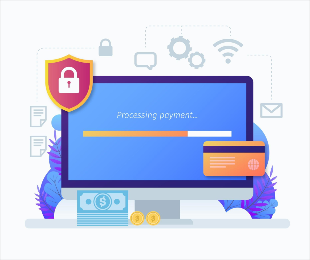 Accepting Online Payments Benefit - Payment security