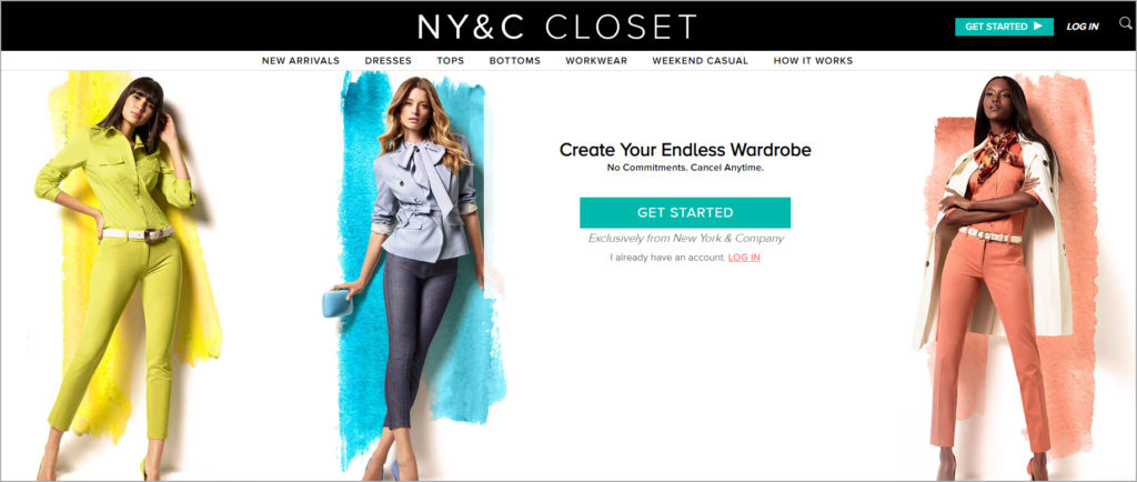 NY&C Closet Home Subscription