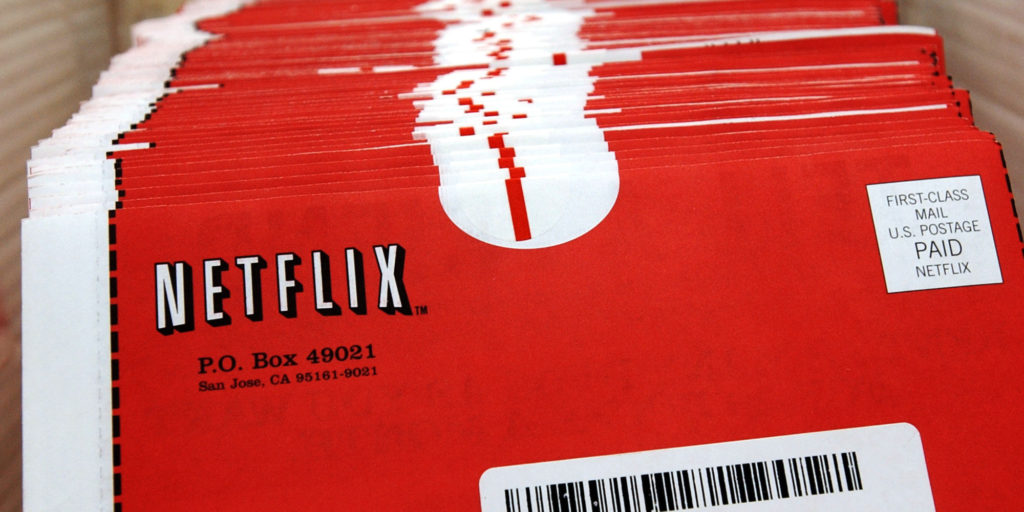 Netflix DVD Rentals