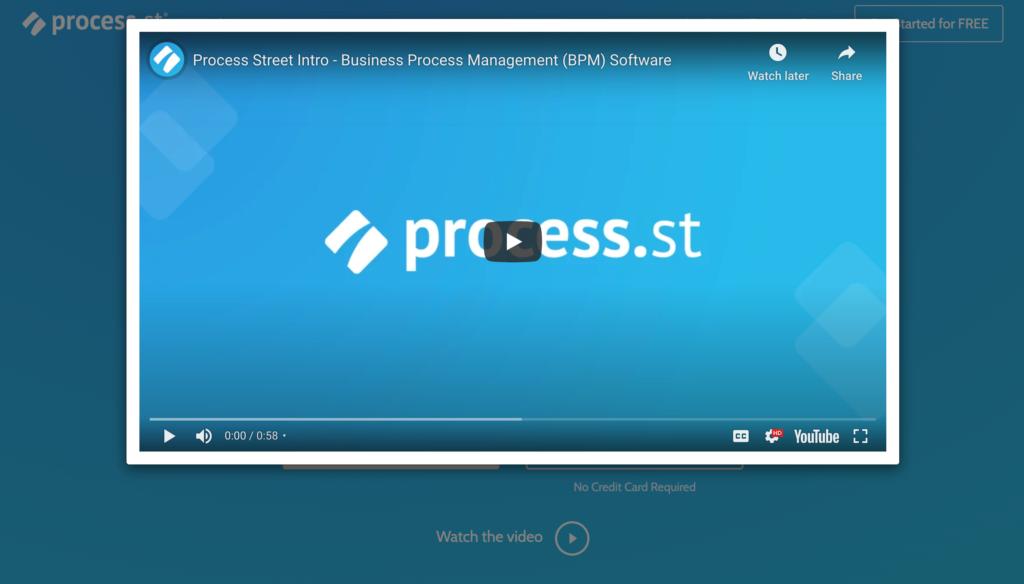 process video