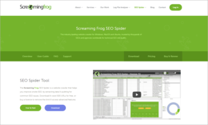 ecommerce seo audit tool - screaming frog