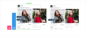 localization strategy - facebook campaign results