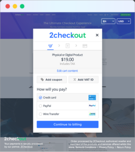 InLine Checkout – Hosted Cart