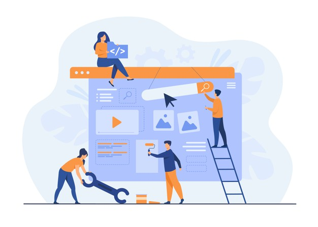 digital-marketing-team-constructing