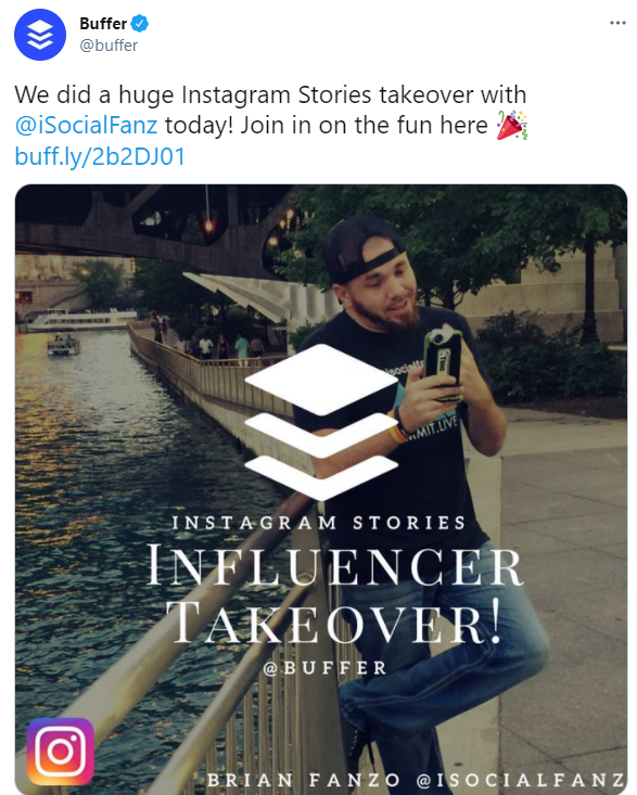Comment-Boost-Ecommerce-Sales-with-Influencer-Marketing-Brian-Fanzo-Buffer-Campaign