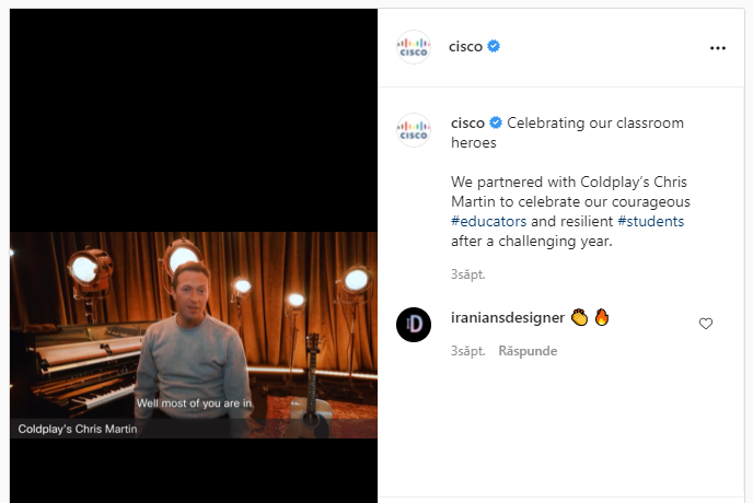 Comment-Boost-Ecommerce-Sales-with-Influencer-Marketing-Chris-Martin-Cisco-Campaign