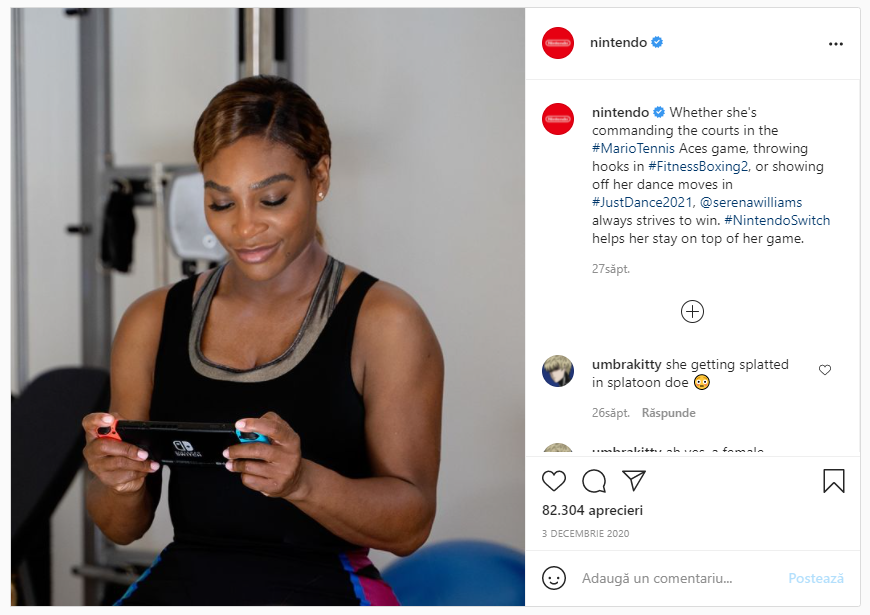 Comment-Boost-Ecommerce-Sales-with-Influencer-Marketing-Serena-Williams-Nintendo-Campaign