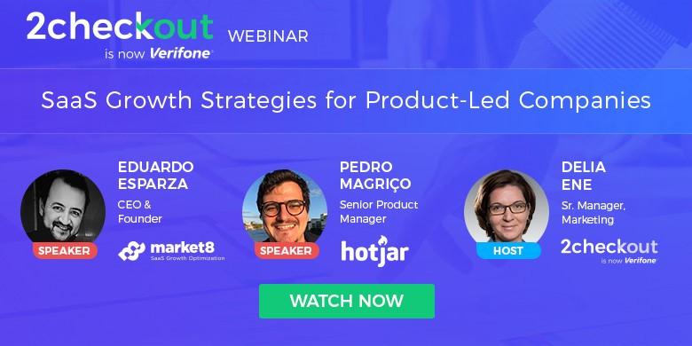 SaaS Growth Strategies for Product-Led Companies Webinar