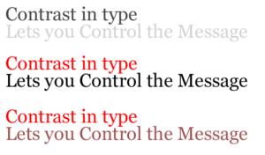 font-contrast-example