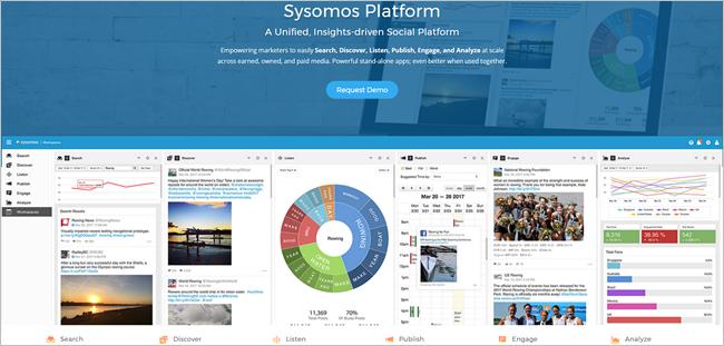 17 social listening tools sysomos