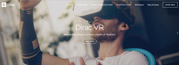 Dirac Website