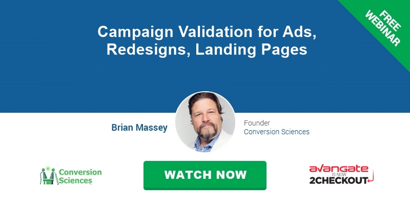 Campaign Validation for Ads, Redesigns, Landing Pages