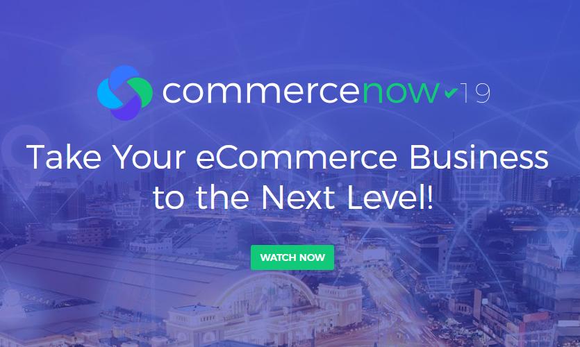 CommerceNow 2019 online event